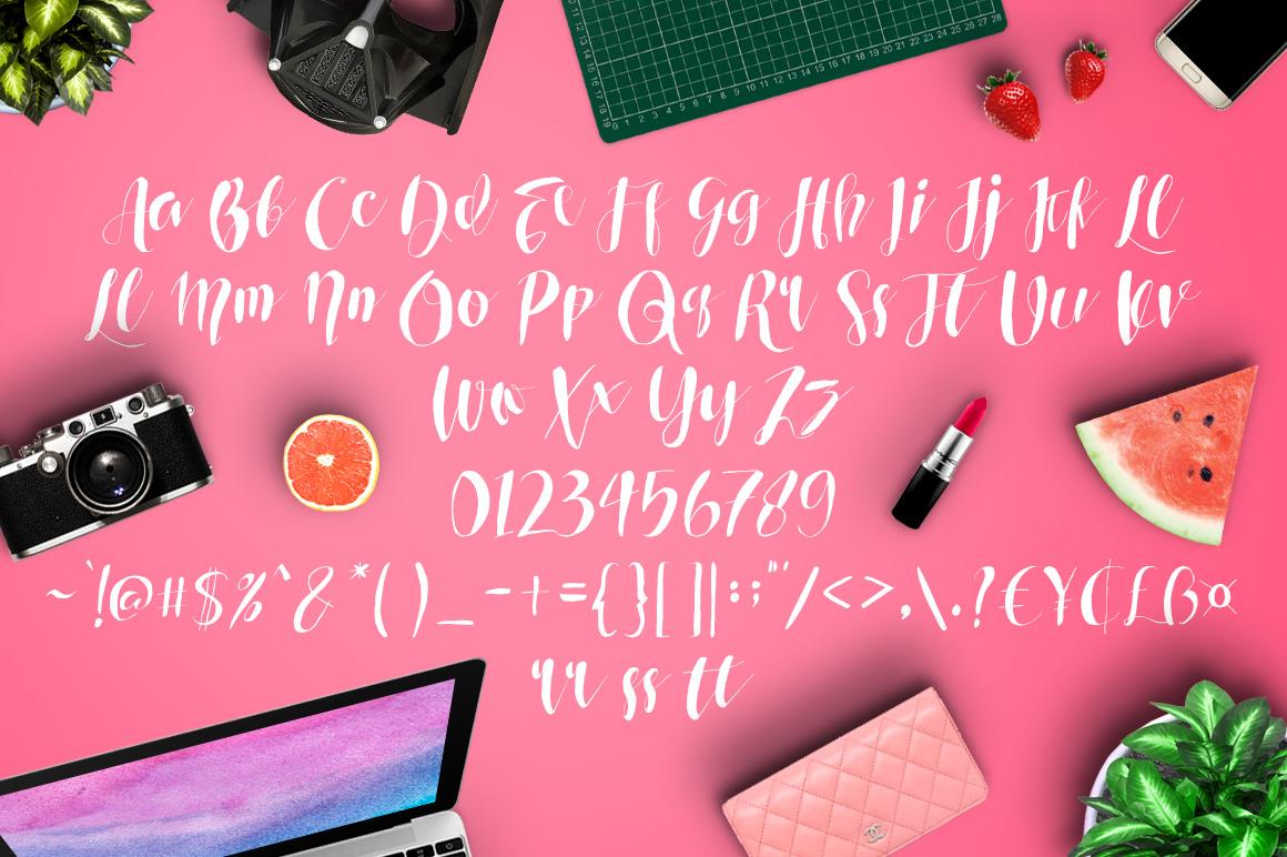 Roselowe Typeface example image 5