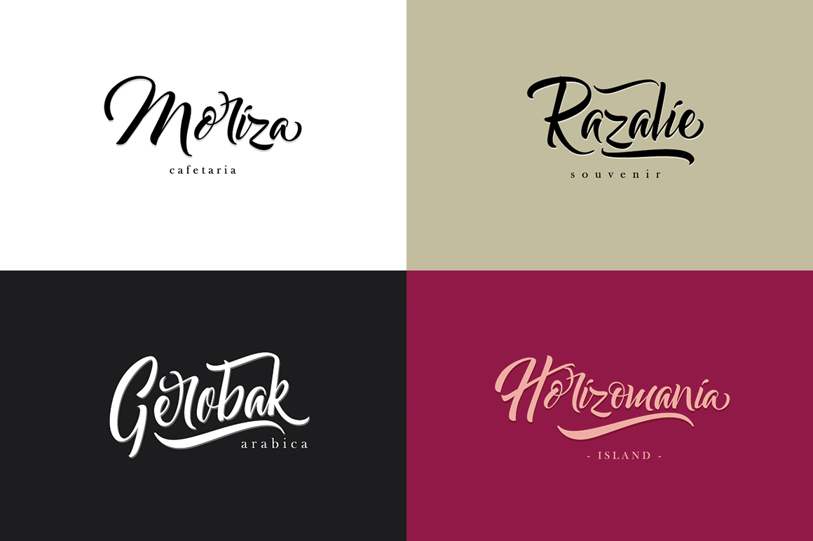 Bareken Typeface example image 2