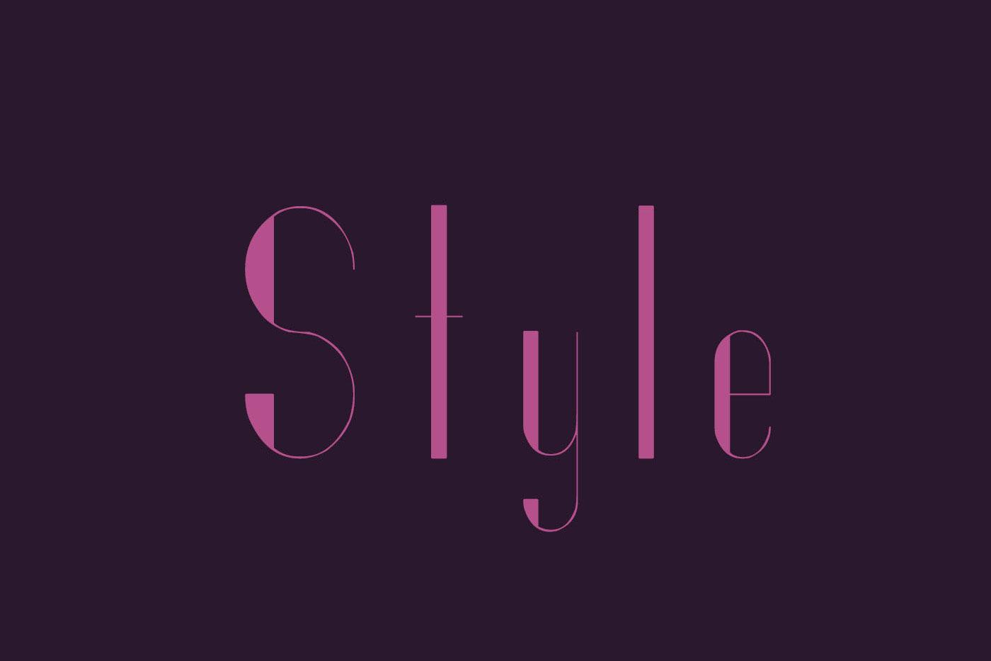 Styllo Display Typeface example image 6