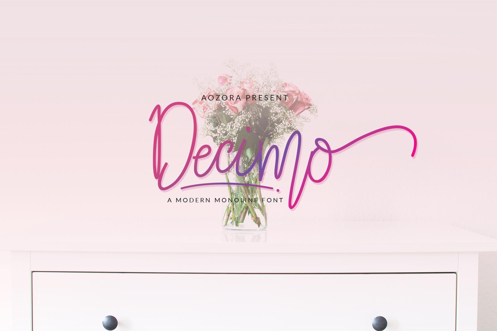 Decimo Script example image 7