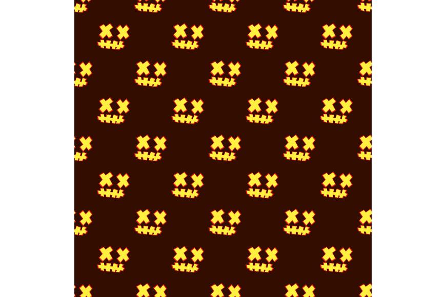 Set of 12 seamless vector backgrounds Happy Halloween.  example image 17