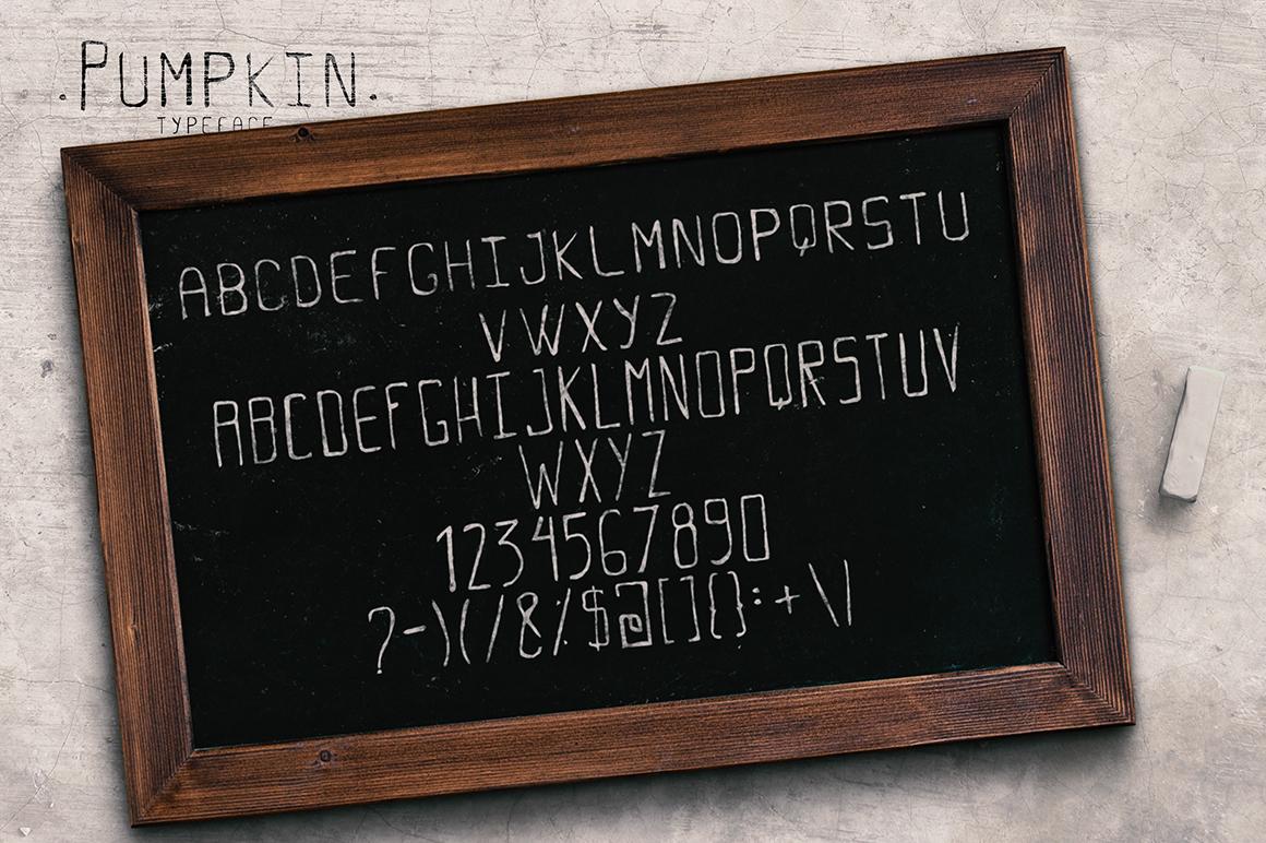 Pumpkin Script Typeface example image 5