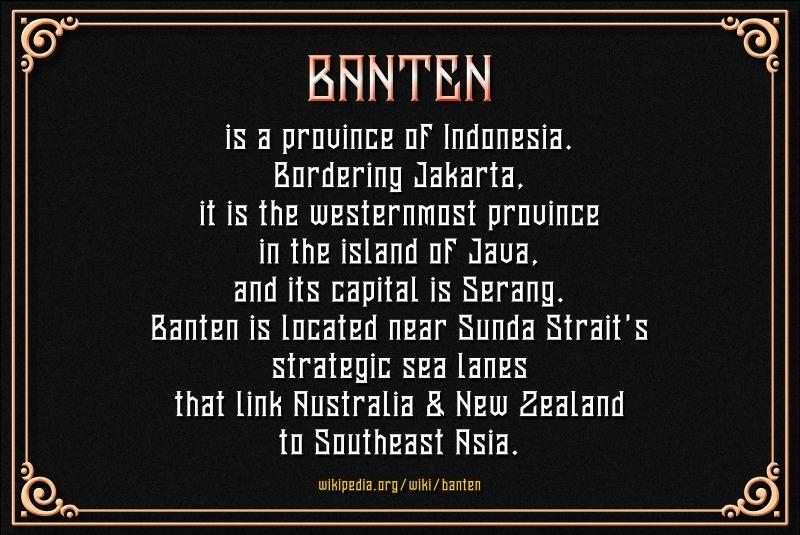 Banten Unfamous 2 - 3 Fonts example image 6
