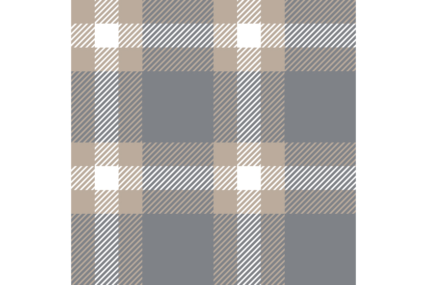 Set of 12 seamless vector tartan backgrounds.  example image 7