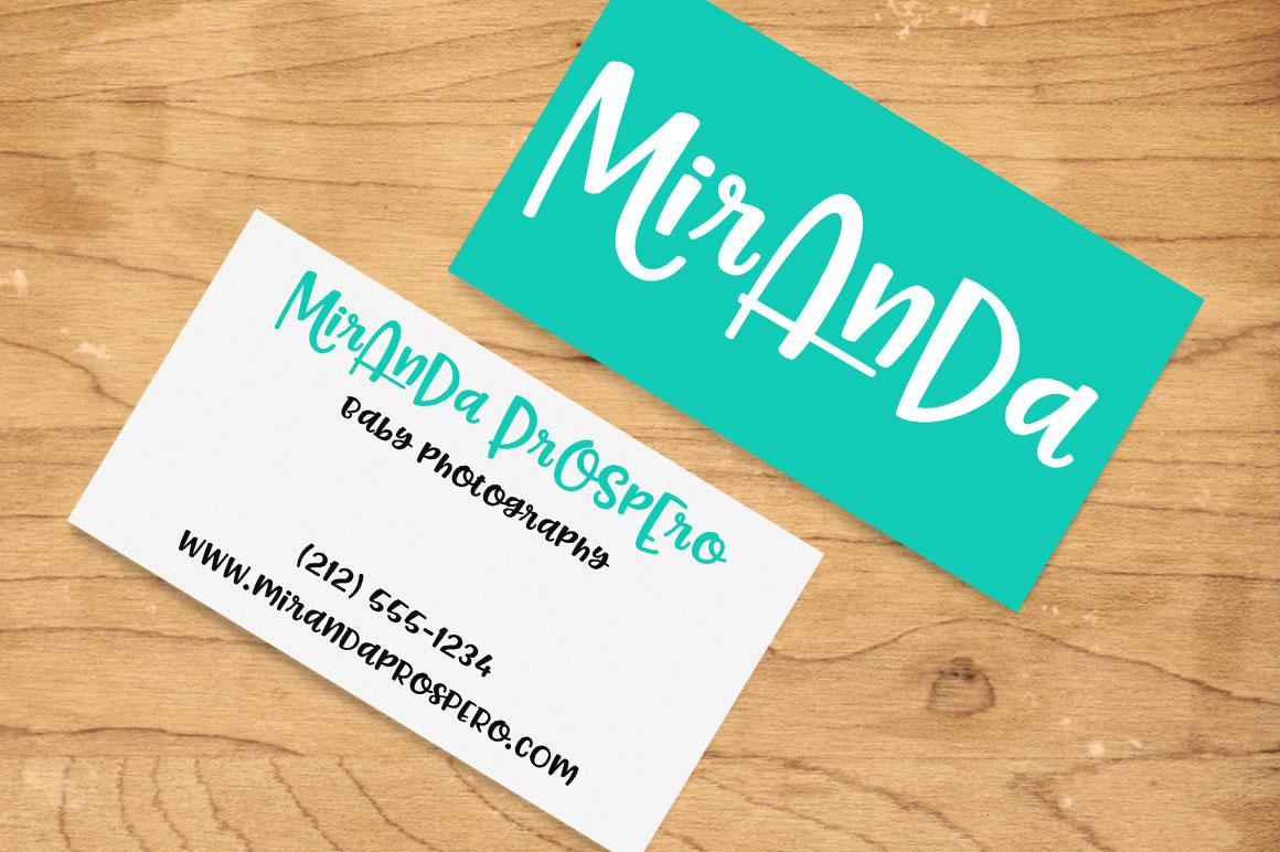Pinsetter: business card corporate branding mockup idea