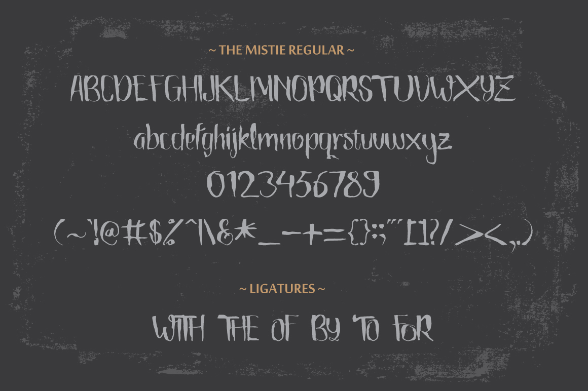 The Mistie Typeface example image 4