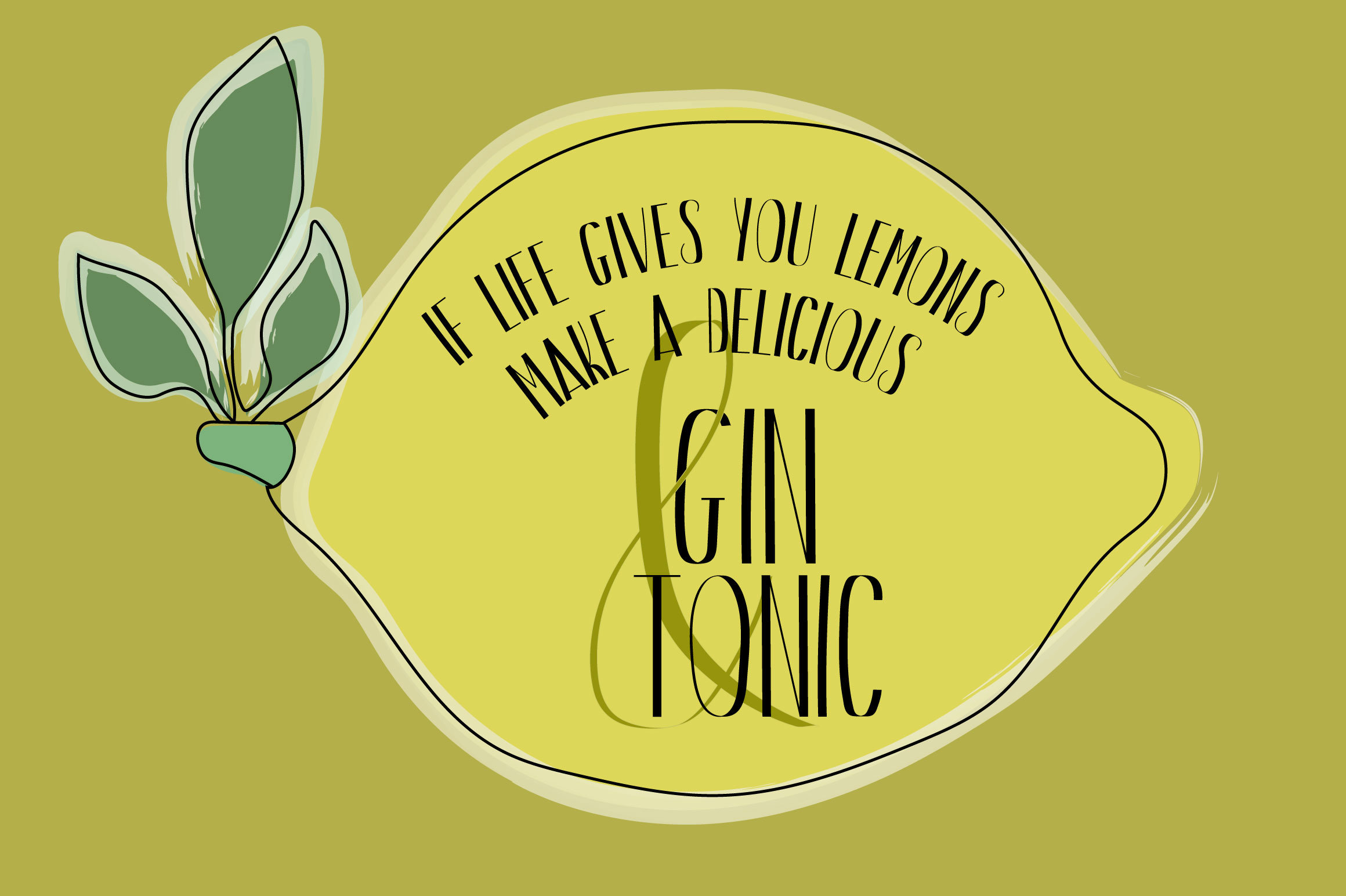 Gin And Tonic | Sans Serif Font Duo example image 3