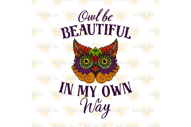 Beautiful Owl svg example image 3