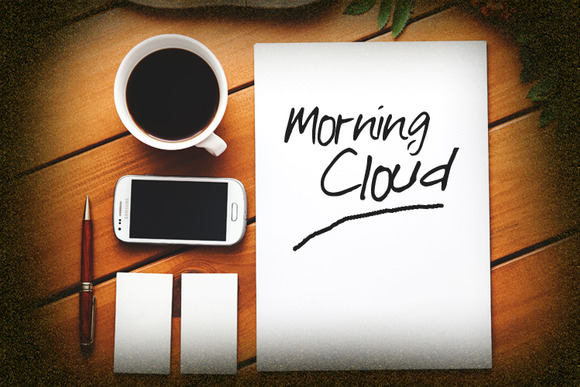 Morning Cloud Font example image 2