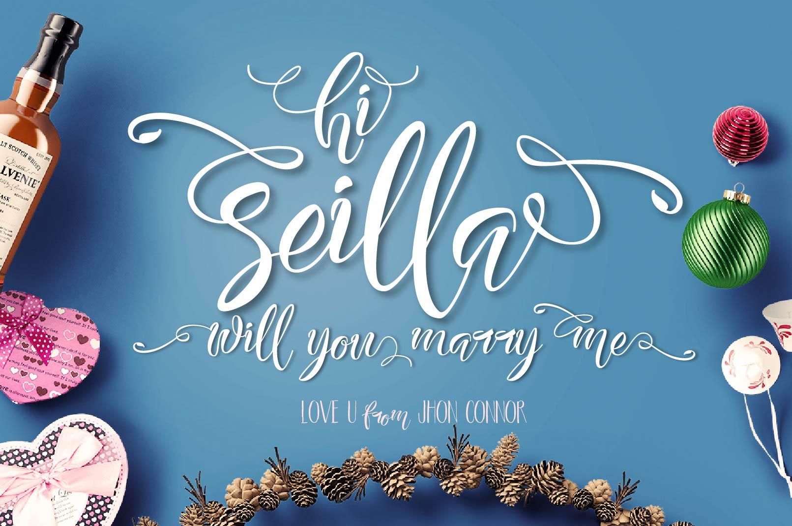 Seilla Script example image 3