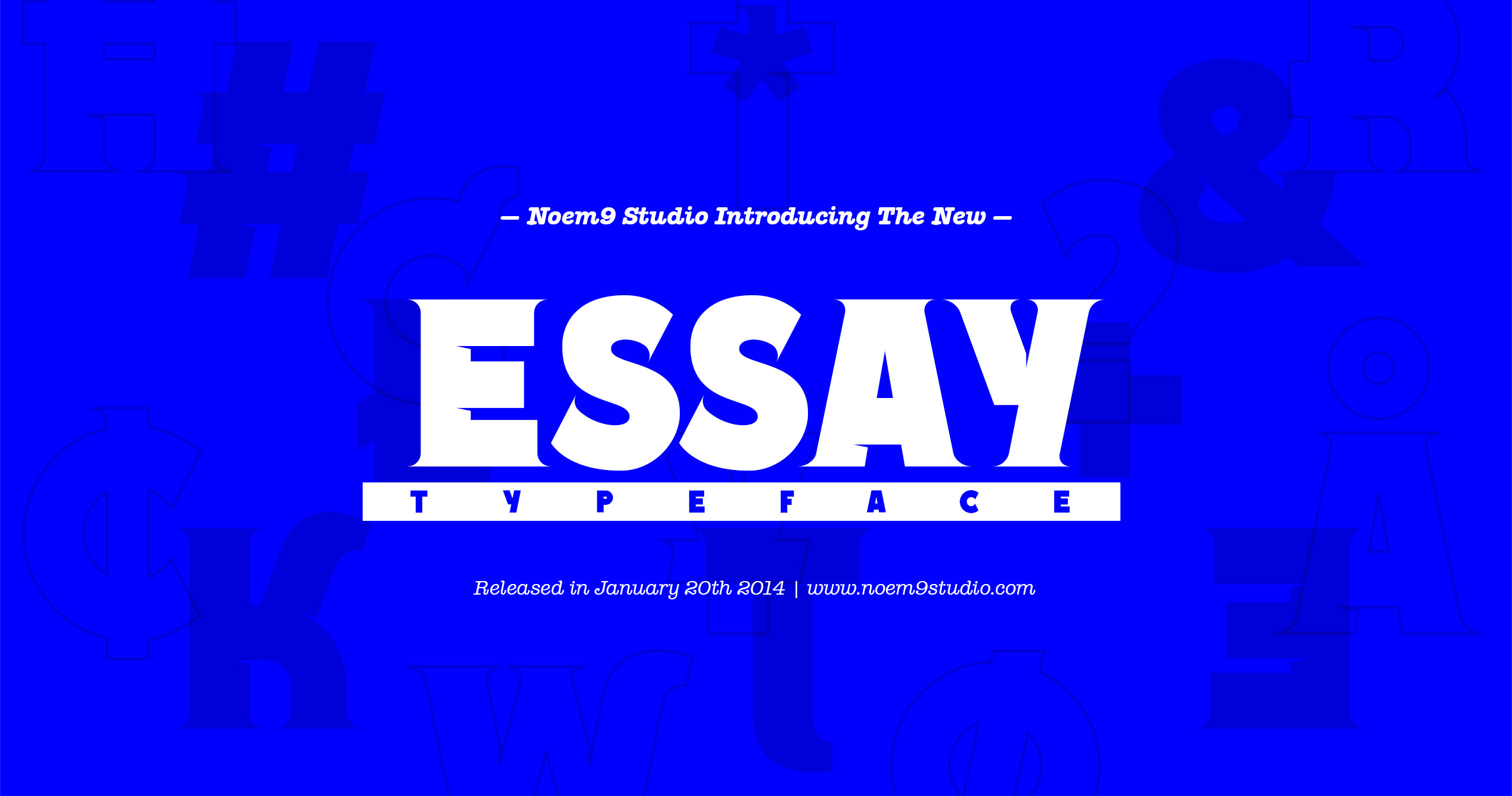 Essay Font Family example image 1