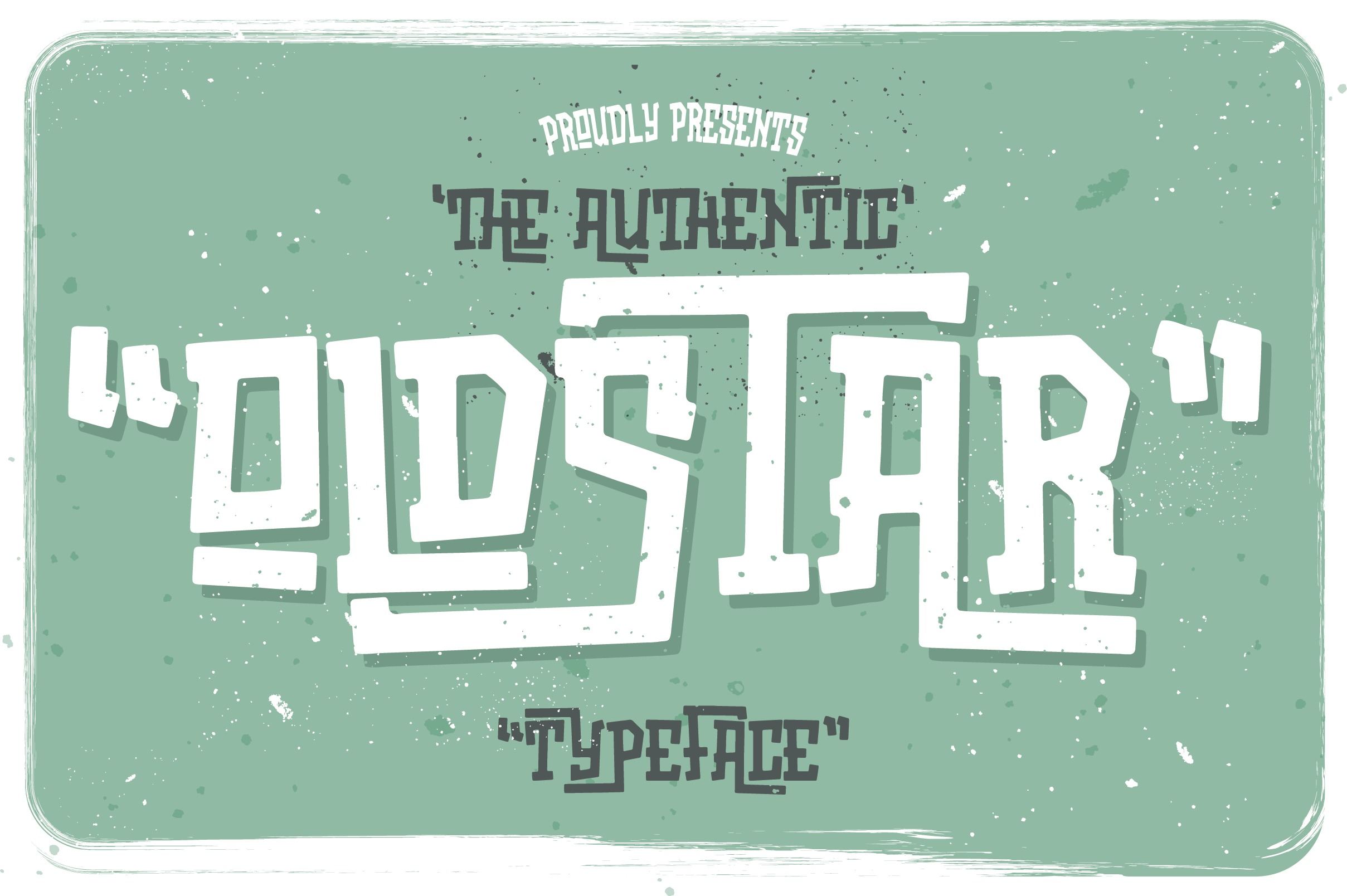Oldstar Typeface example image 1
