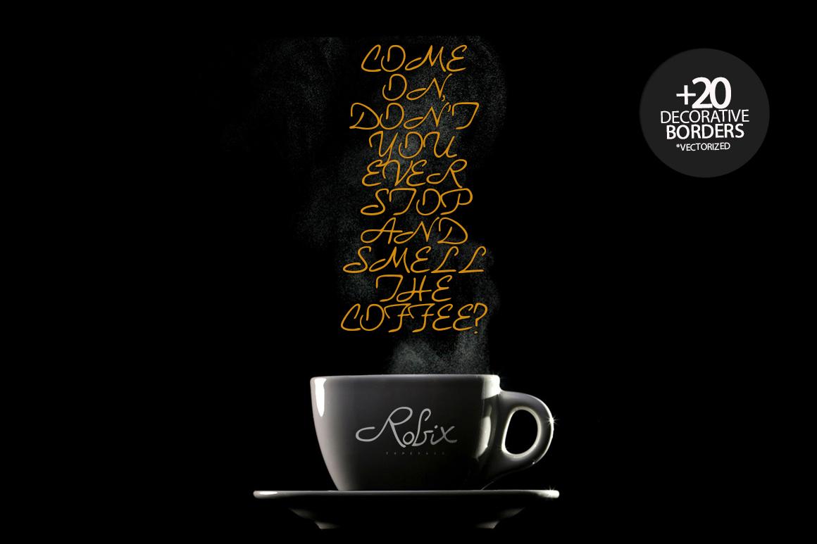 Robix Typeface + Extras example image 3