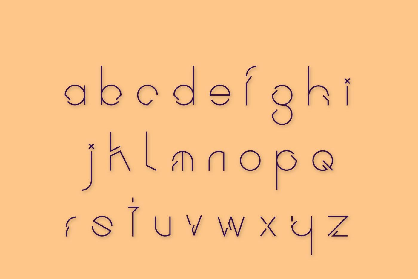 Nova display typeface example image 4