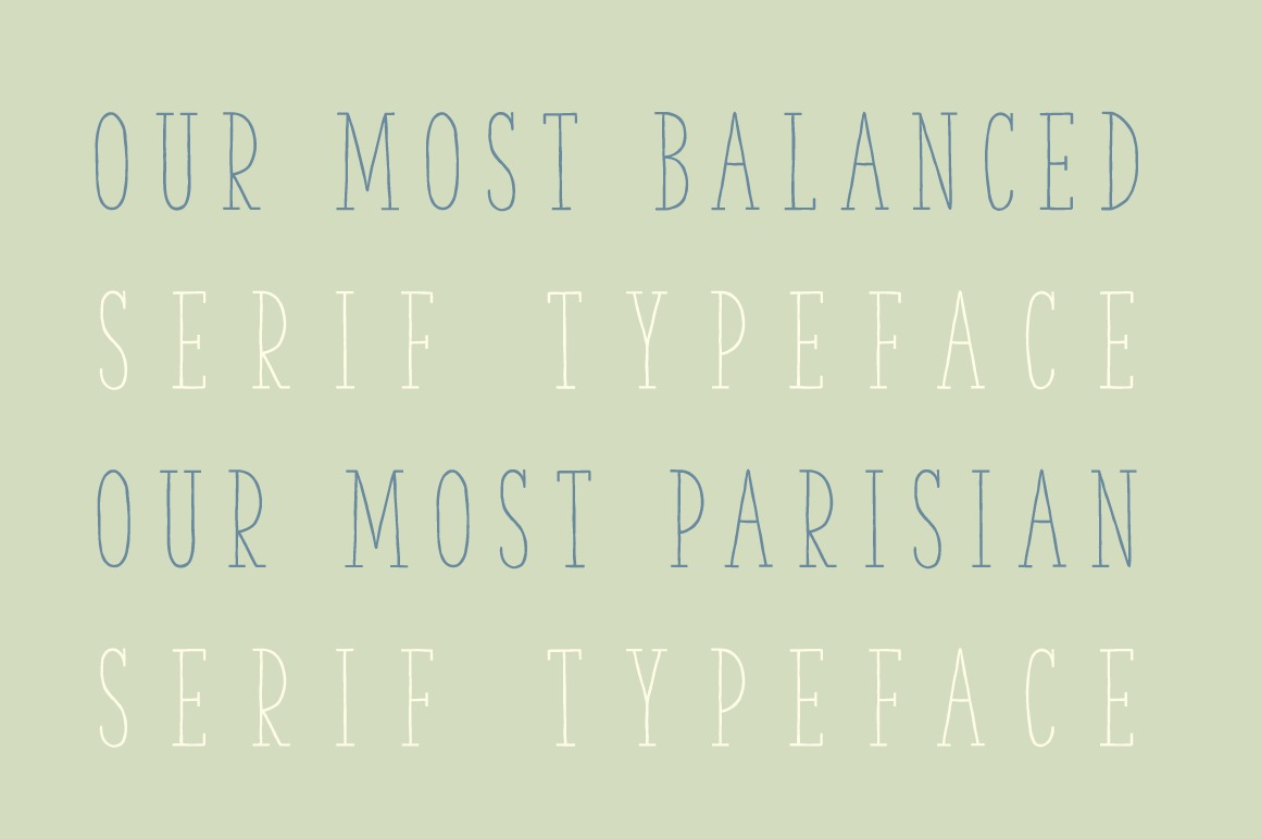 The Serif Hand Family example image 6