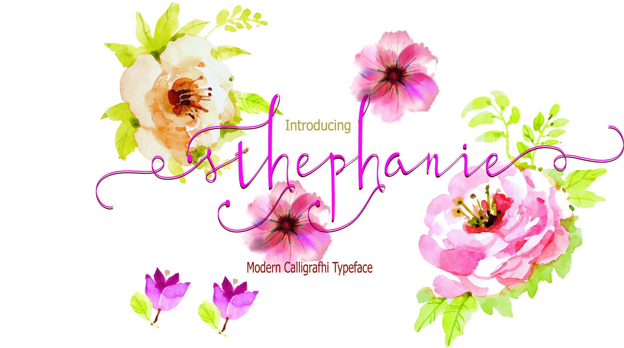 Sthephanie Script example image 3