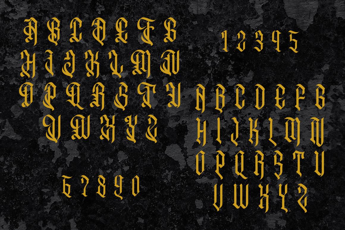 Oropitem Typeface example image 4