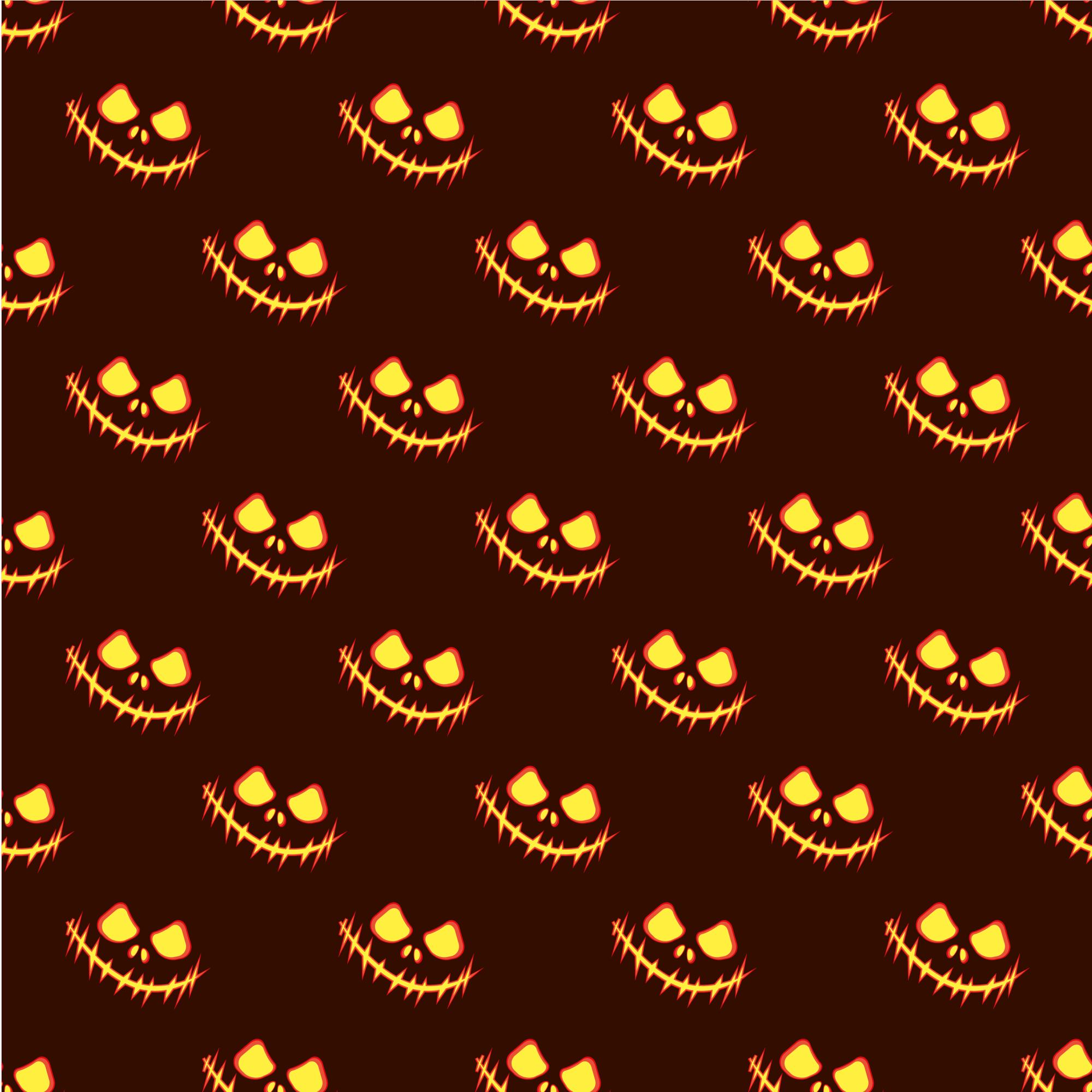 Set of 12 seamless vector backgrounds Happy Halloween.  example image 4