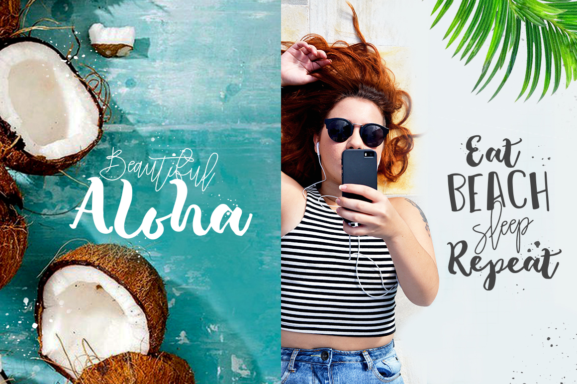The Tropical - 5 Fonts - 40% OFF example image 2