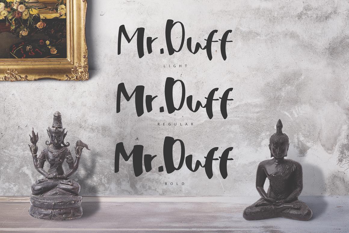 Mr. Duff Typeface  example image 3