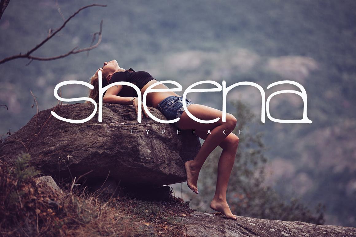 Sheena Typeface example image 1