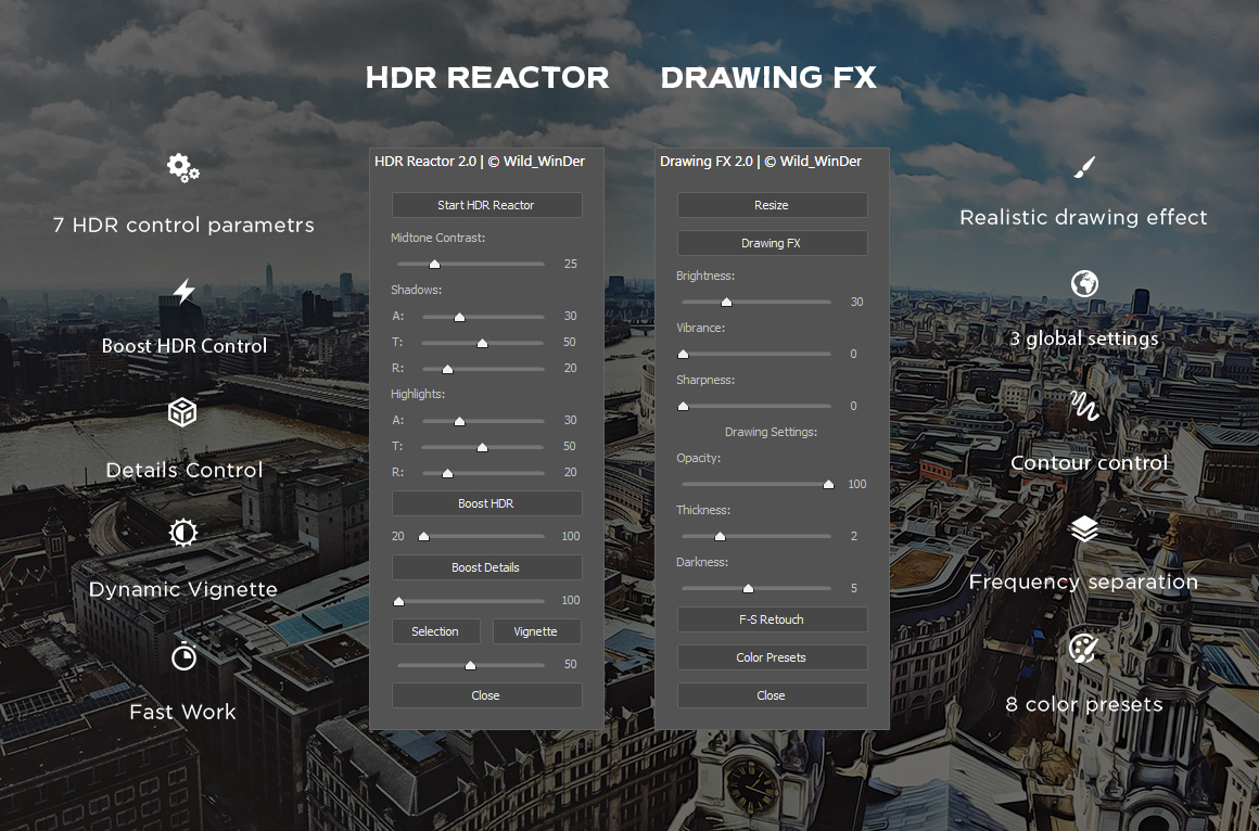 HDR Reactor 2.0 example image 3