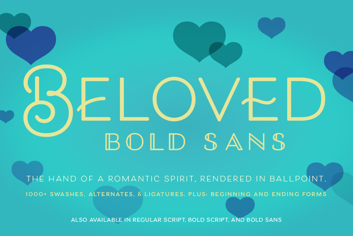Beloved Sans Bold example image 1