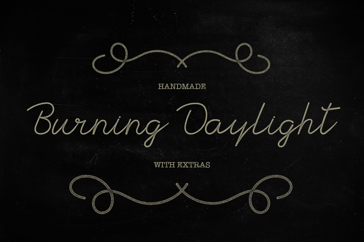 Burning Daylight example image 1