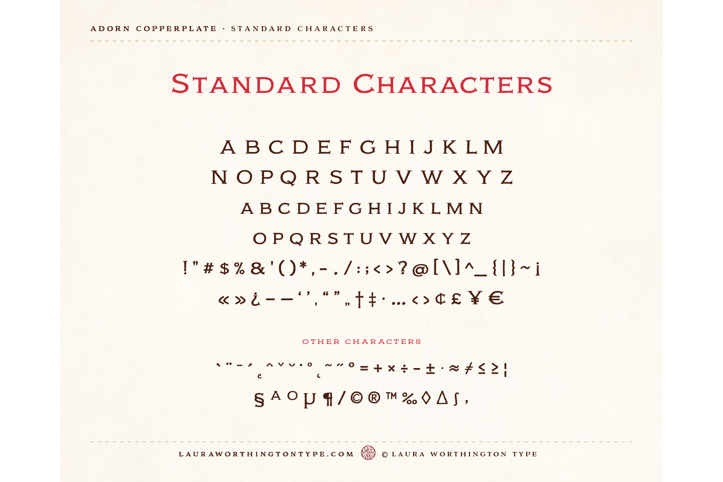 Adorn Copperplate example image 3