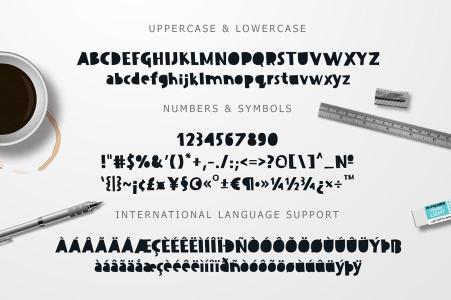 Dissentio Typeface example image 8