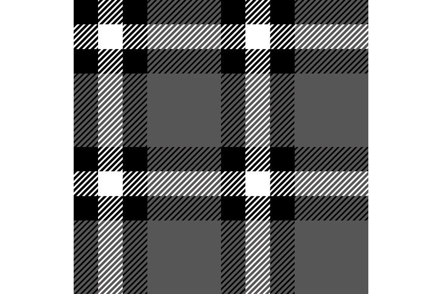 Set of 12 seamless vector tartan backgrounds.  example image 9
