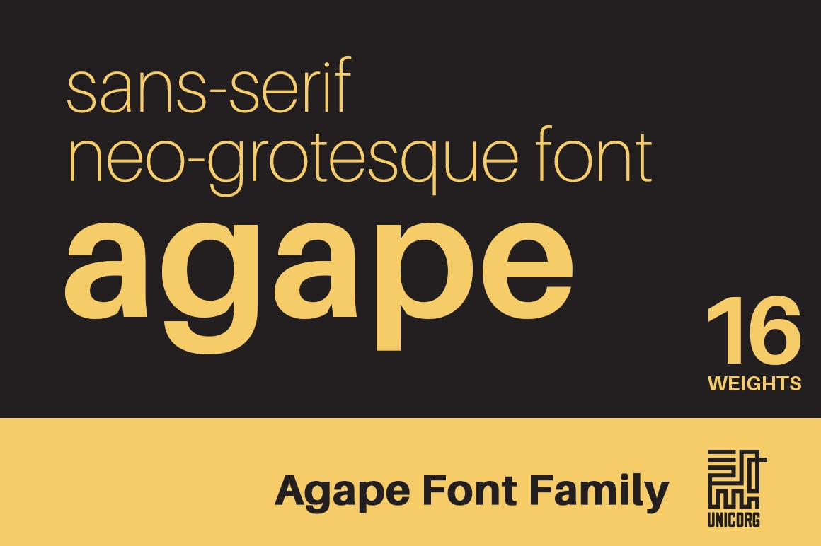 Agape Font Family example image 1