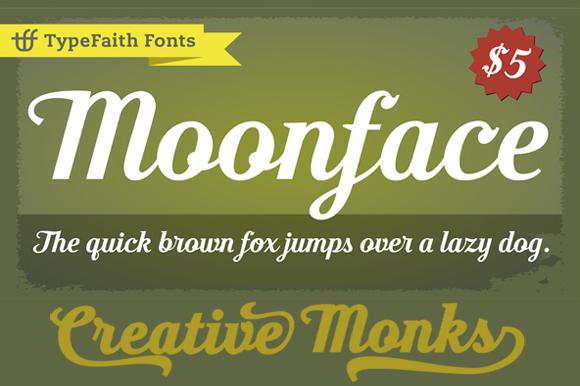 Moonface Script example image 6