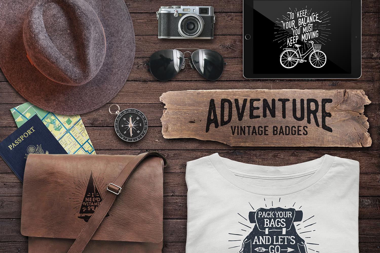 Adventure Vintage Badges (part 2) example image 7