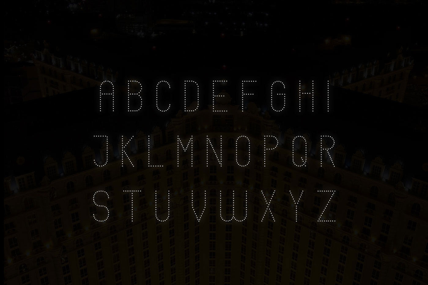 Neons display typeface example image 4