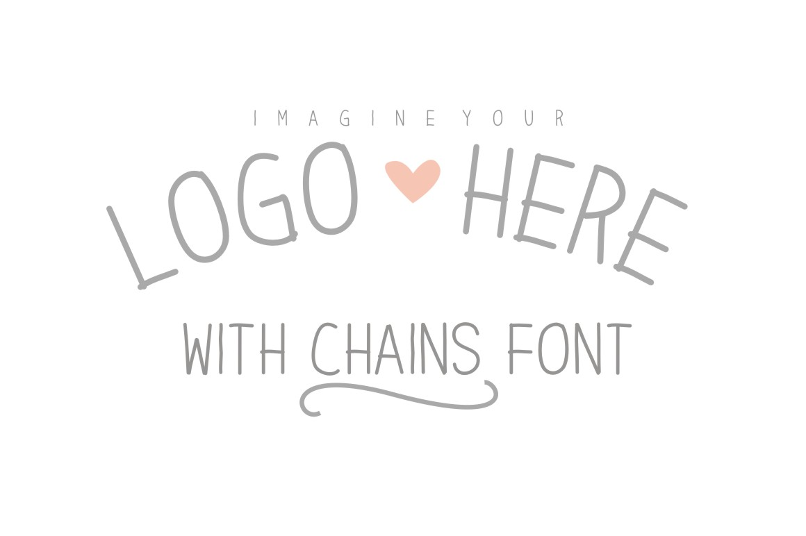 Chains Font example image 1