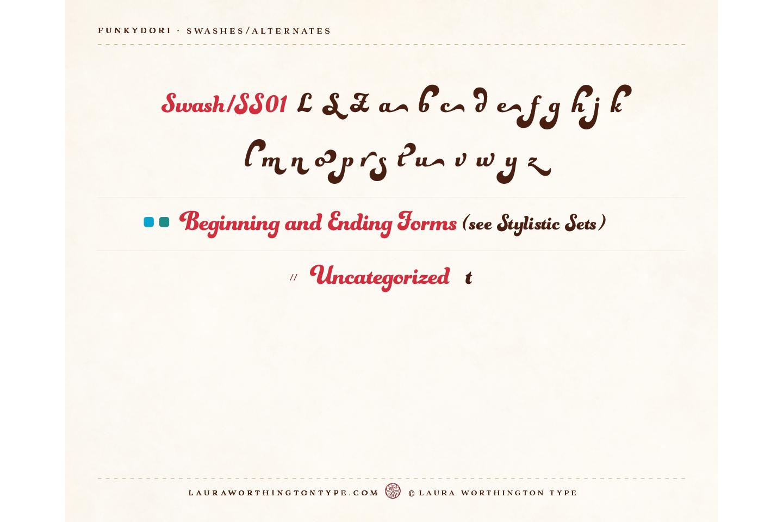 Funkydori Bold example image 7