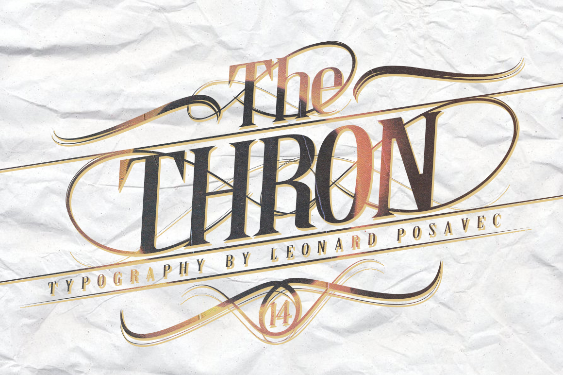Thron Font example image 4