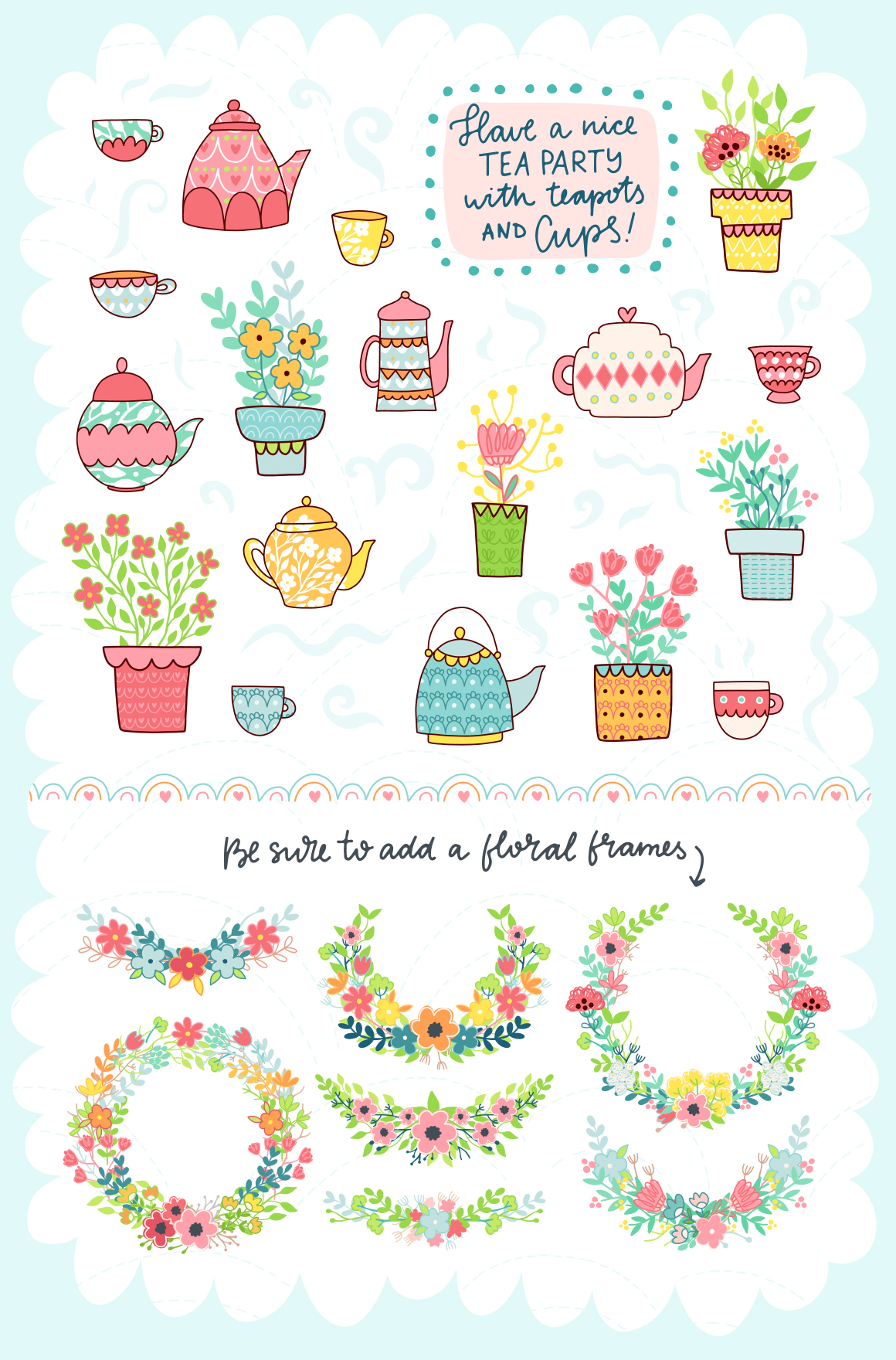 Spring is Here! Graphics & Patterns example image 17