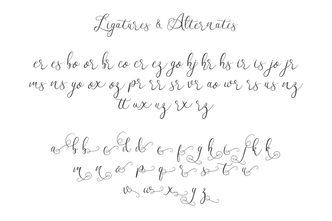 Workaholic Typeface example image 6