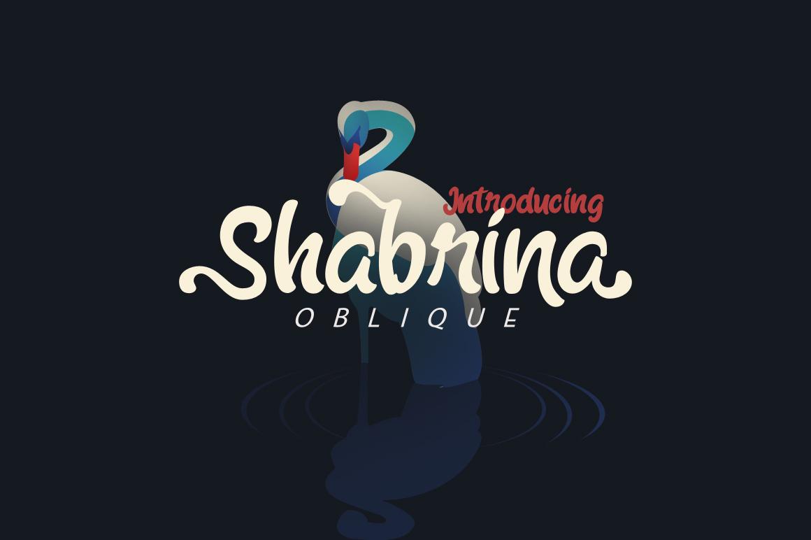 Shabrina Oblique example image 1