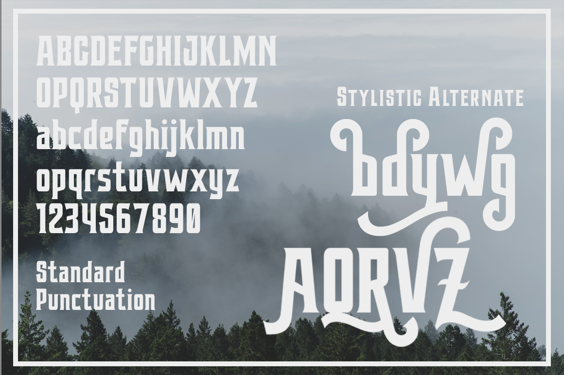 Cerudikan Typeface example image 8