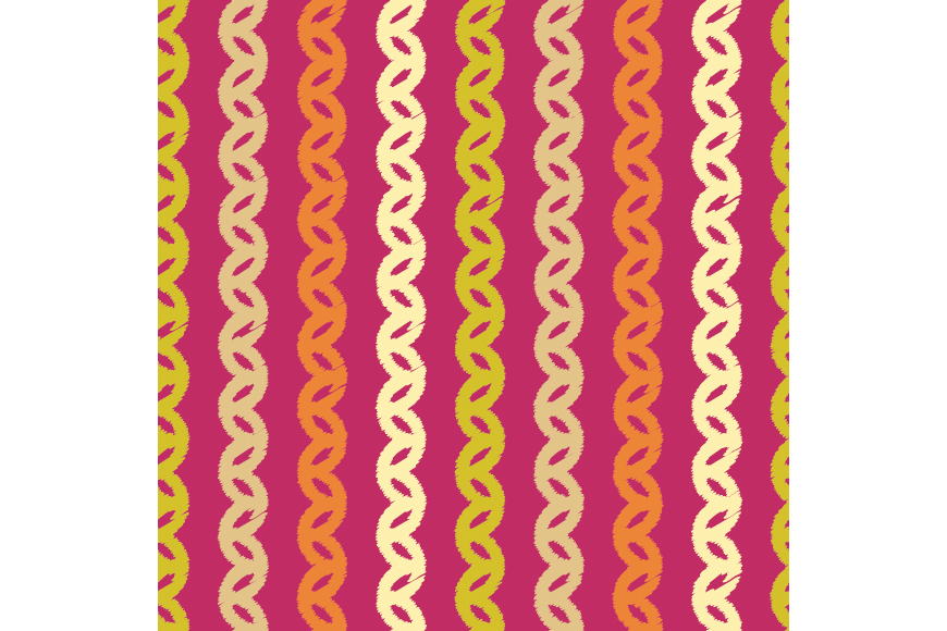 Set of 12 boho seamless vector backgrounds.  example image 12