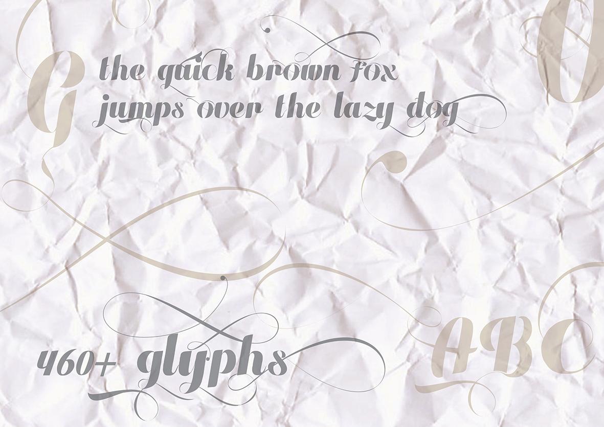 Queen Script Font 5