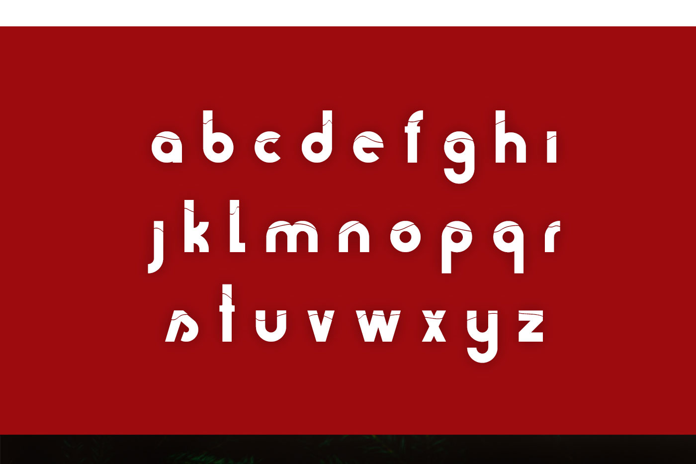 Holiday typeface example image 3