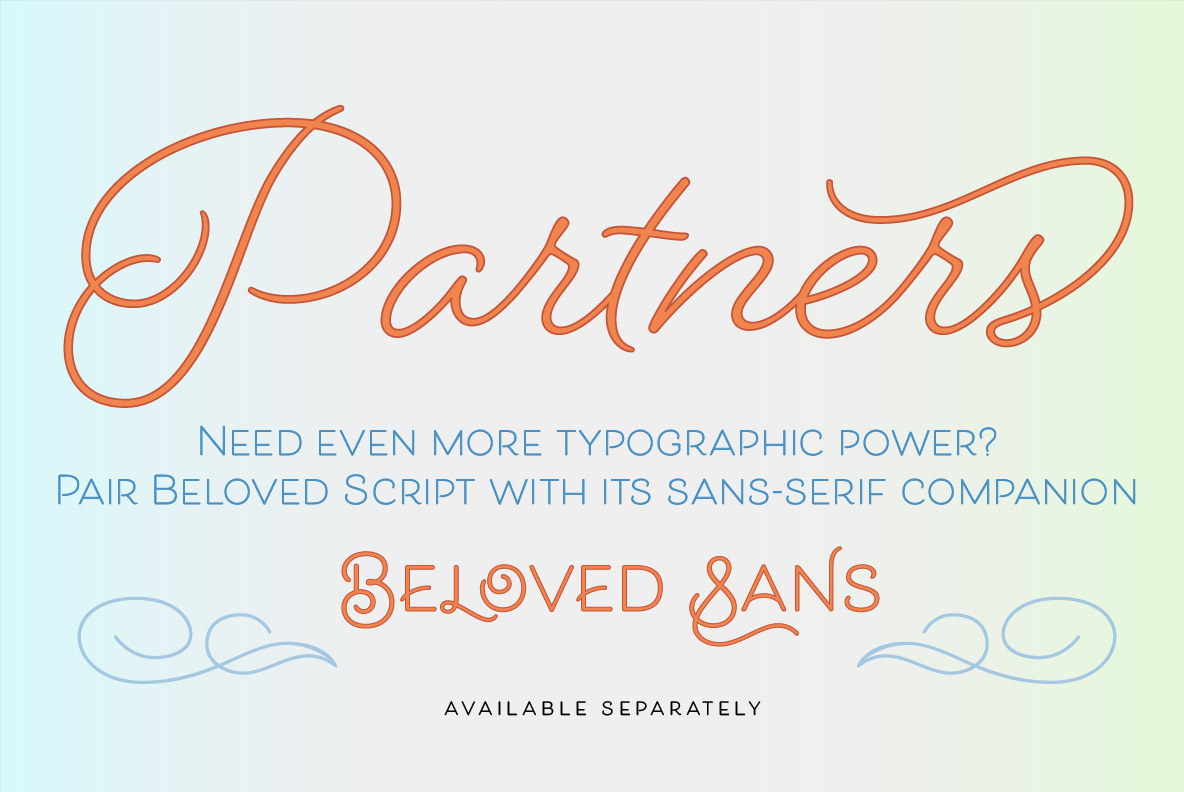 Beloved Script Bold example image 36