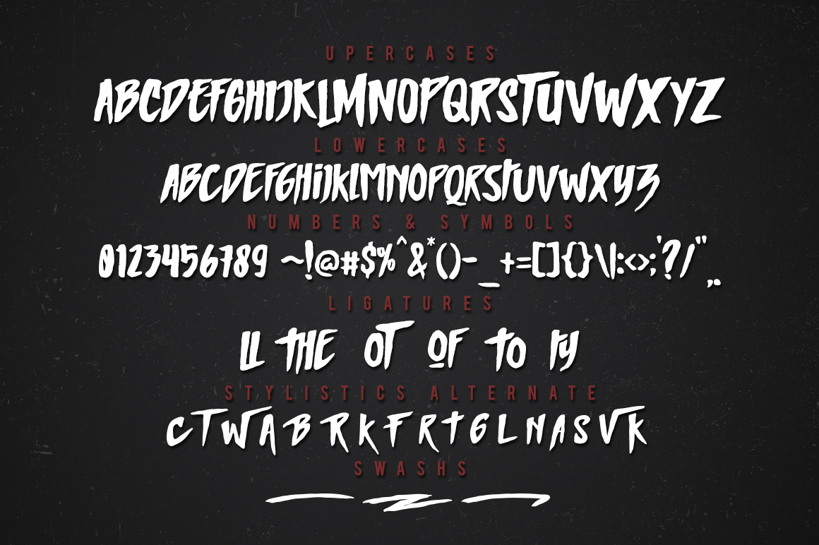 MIGHTY Typeface example image 4
