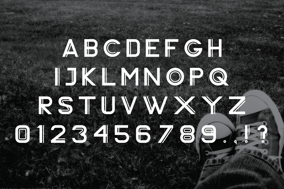 Vardy Display Typeface example image 6