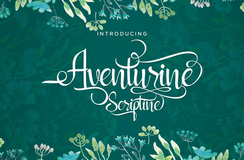 Aventurine Scriptine example 1