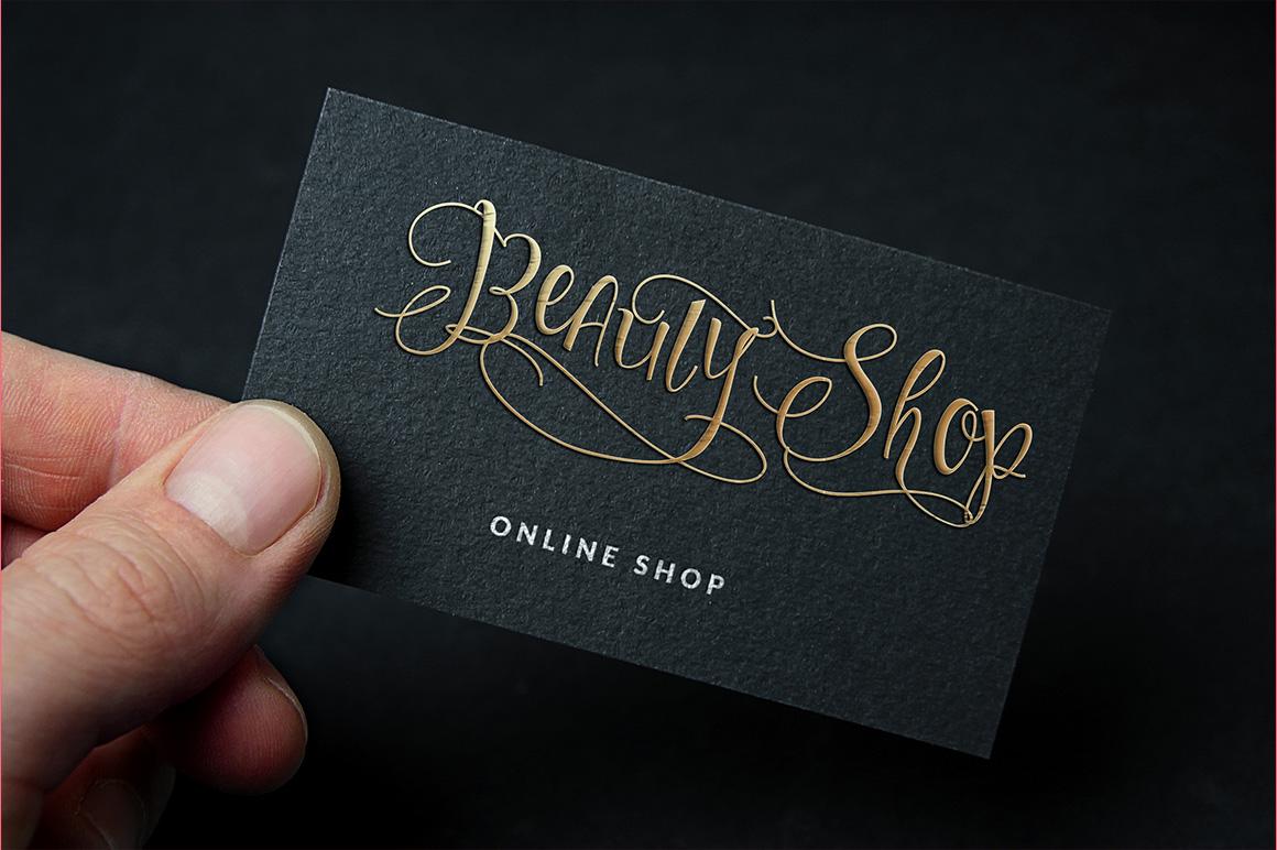 Sweetline Typeface example image 10